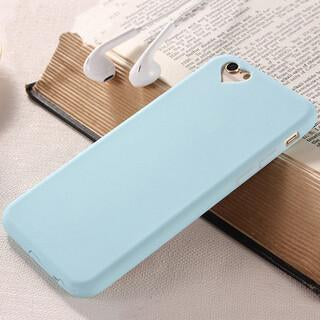 Cute Candy Color Loving Heart Case For Iphone 6 Case For Iphone 6s 6 Plus 5 5s Se Phone Cases Cover Capa Fundas