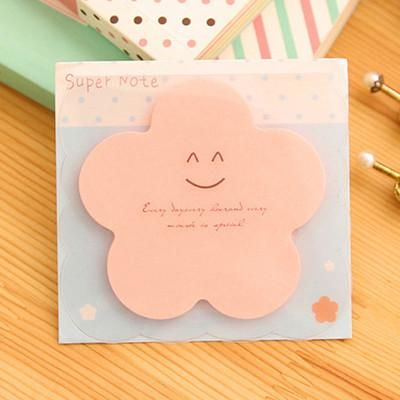 Candy Colors Creative Sticky Notes Memo Pad Paper Sticker Post It Cartoon Cute Wall Stickers Fridge Magnets N Times 8 Color