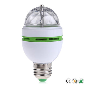 ++ E27 3w Colorful Auto Rotating Lampada 85-260v Bulb Stage Light Party Lamp Disco Mini Rgb Led Nightlight # Tsleen
