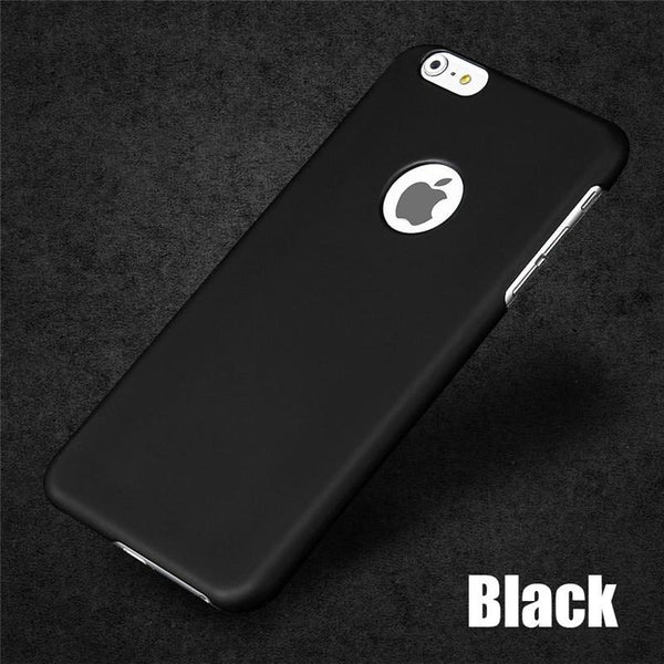 Cover For Iphone 6 7 Case Fashion Luxury Ultra Slim Frosted Hard Scrub Cover For Iphone 6 6s 7 Plus 4.7 5.5 Inch Phone Cases