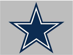 Dallas Cowboys Flag 3ft X 5ft Polyester Banner 90x150cm White Sleeve With 2 Metal Grommets