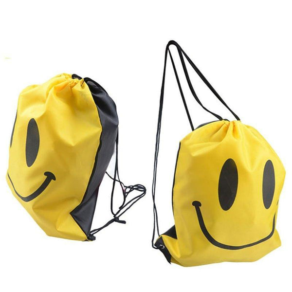 Drawstring Backpack Outdoor Sport Travel Beach Clothing Shoes Swimming Storage Bag Oxford Cloth