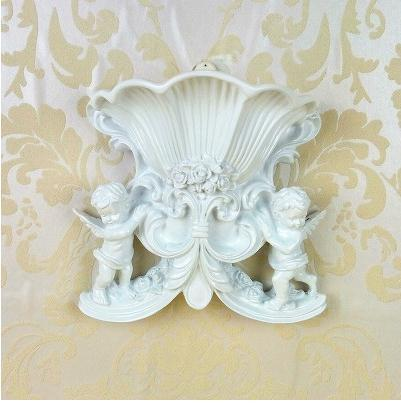 European Angel Vase Creative Resin Vase Home Furnishing Decoration Technology