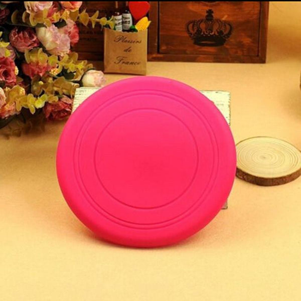 Fantastic Training Toy Play Frisbee Tide Pet Dog Flying Disc Tooth Resistant