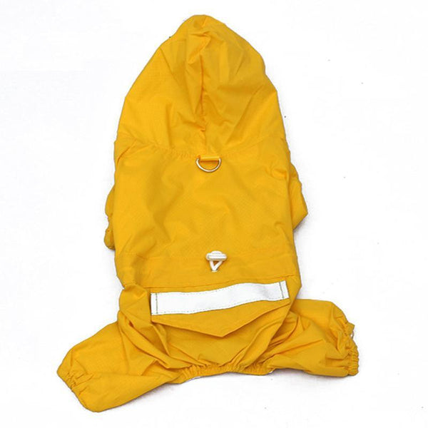 Fashion Pet Dog Rain Coat Jacket Cloth Puppy Raincoat Waterproof Clothes For 5 Colors