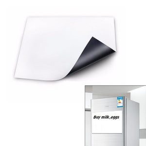 Flexible Size A3 Magnetic Whiteboard Fridge Kitchen Home Office Reminder Magnet Dry-erase Board White Boards Hogard