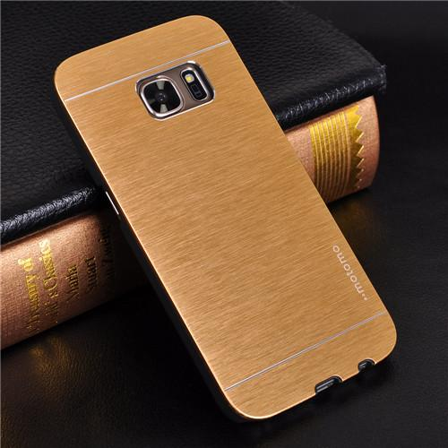 For Samsung Galaxy S7 Case Luxury Motomo Aluminum Metal Hard Case For Samsung Galaxy S6 Edge Case S7 S6 S5 S4 S3 Phone Cases