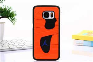 For Samsung Galaxy S7 Phone Case 3d Jordan Capa Sport Basketball Plastic+silicone Phone Back Cover Case For Samsung S7 S7edge