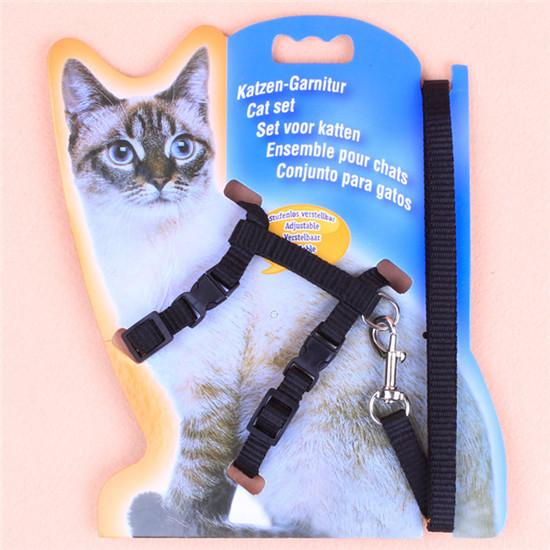 Adjustable Nylon Rope Pet Dog Puppy Cat 5 Colors Lead Leash Harness Walking Chest Strap Pg36