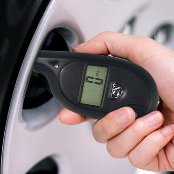 Digital Auto Wheel Tire Air Pressure Gauge Meter Test Tyre Tester Vehicle Motorcycle Car 2-99.5 Psi Tire Gauge