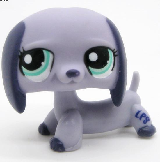 Lps Cute Toys Lovely Pet Shop Animal 1pc Action Figure Doll Dachshund Dog Puppy Littlest Toy