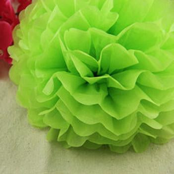 Large Size Pompon 1pcs 14 Inch Tissue Paper Pom Poms For Wedding Party Festival Decoration Multi Color Option