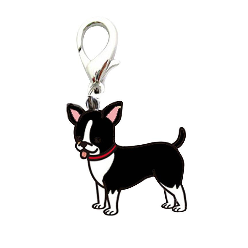 Lovely Pets Dog Tag Disc Disk Pet Id Enamel Accessories Collar Necklace Pendant 906