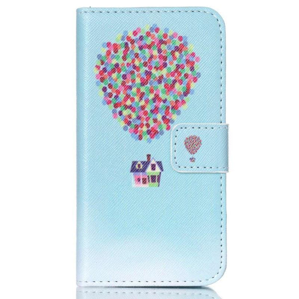 Luxury Painting Pu Leather Case For Samsung Galaxy J1 J100 J100h J100f 2015 Housing Flip Wallet Stand Cover Phone Bags Coque