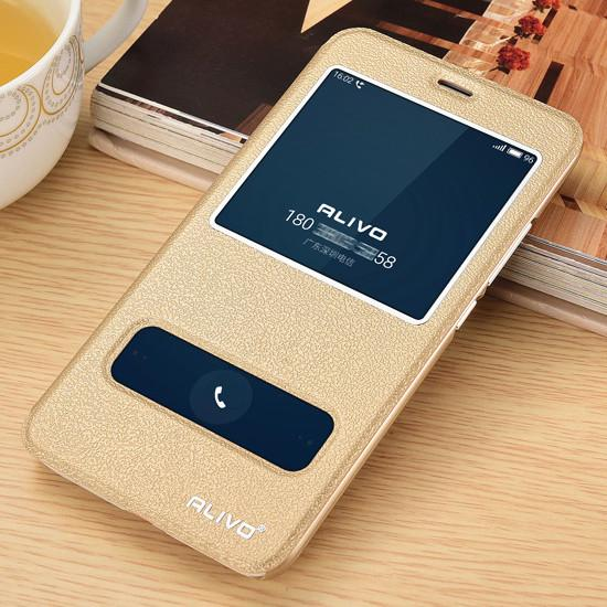 Meizu M3 Note Leather Case With Window View Protector Flip Cover Case For Meizu Meilan Note 3 Phone