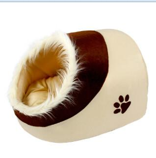 Pet House For Puppy Cat Dog Leopard Gain Zebry Paw Prints Peach Hearts Pattern 5 Choices Dog Bed Pet Product