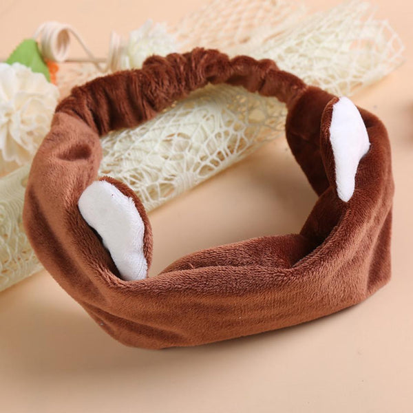 Cute Cat Ear Hair Towel Turban Head Hoop Sell Face Bangs Hair Toalha Playa De Banho Microfiber Telo Mare Toallas Algodon