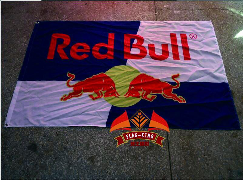 York Red Bulls Flag 3ft x 5ft Polyester North American Soccer USL Pro Banner Size 90*150CM Custom Flag