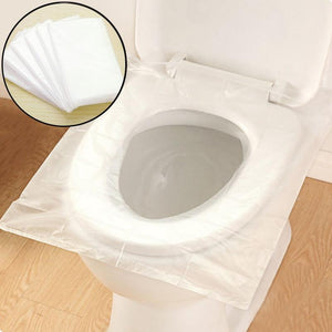 Ly Disposable Toilet Seat Cover Waterproof Closestool Seat Cover Sanitary El Travel Supplies Pack 6pcs
