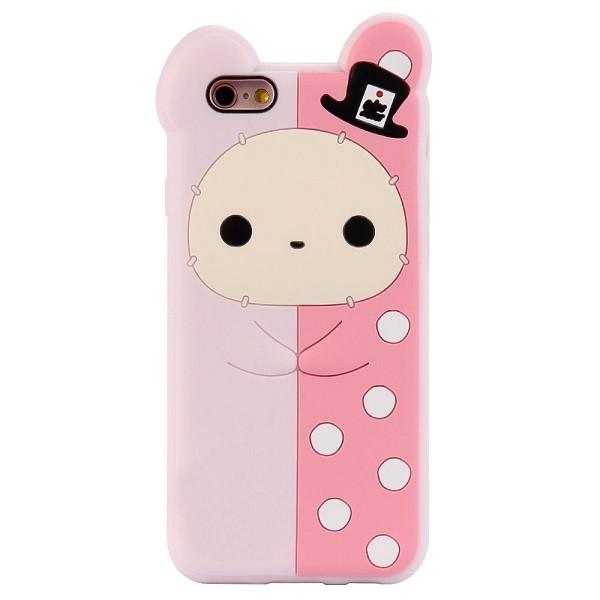 Phone Cases For Apple Iphone 6 6s 7 Plus 5 5s Case Cute 3d Cartoon Biscuit Case Soft Silicon Cover Couque For Iphone6 Souple