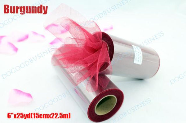 Pick Color Matt Tulle Roll Spool 6inch X 25yard 6inch X 75ft Tutu Wedding Decorations Party Bow 20 Colors