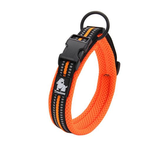 Quality 3m Reflective Dog Collars Adjustable Pet Cat & dog Collar Outdoor Trainning Soft Air Mesh Padded Brand Pet Product Xxs-3xl
