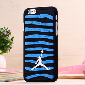 3d Air Jordan Phone Case For Iphone 6 Plus 5.5 Pvc Rubber Stripe Jumpman Phone Back Cover For Iphone 6 4.7 Inch 5s Se