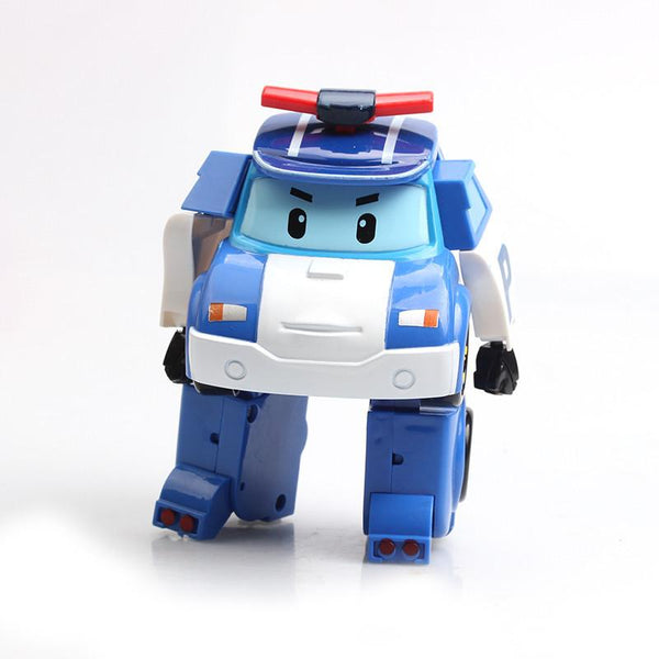 Robocarr Perley Deformation Robot Korea Cartoon Anime Transformation Model Children's Toys Kawaii Kids Toys