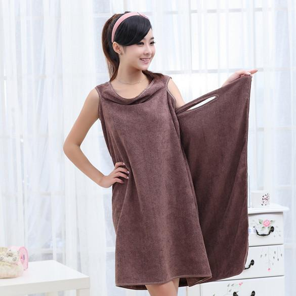 Super Absorbent Microfiber Bath Beach Wearable Body Wrap Spa Towel