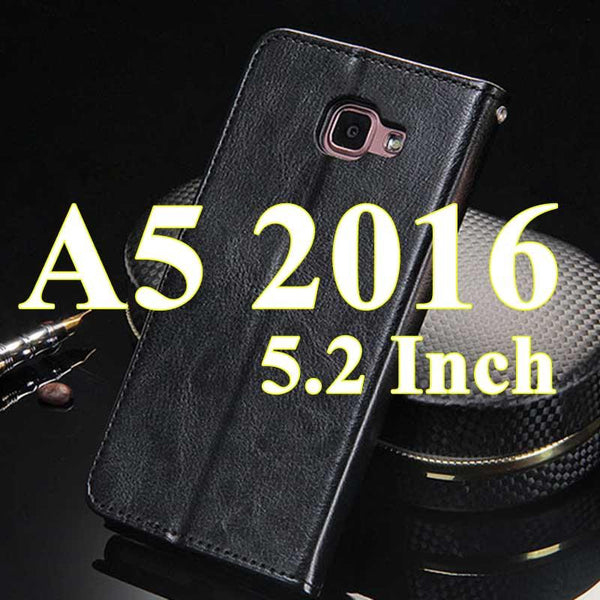 Wallet Case For Samsung Galaxy A5 2016 A5 A7 2016 Broncos Pu Leather Flip Cover With Card Holders Coque Phone Bag Capinha