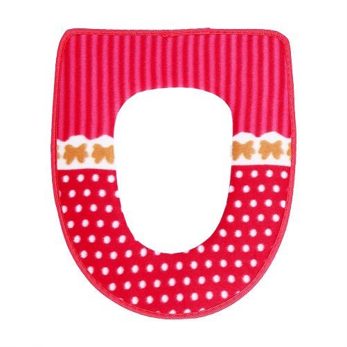 Winter Toilet Seat Warmer Coral Fleece Thicken Carpet Toilet Seat Cover Soft Comfortable Baby Potty Seat Overcoat Toilet Case