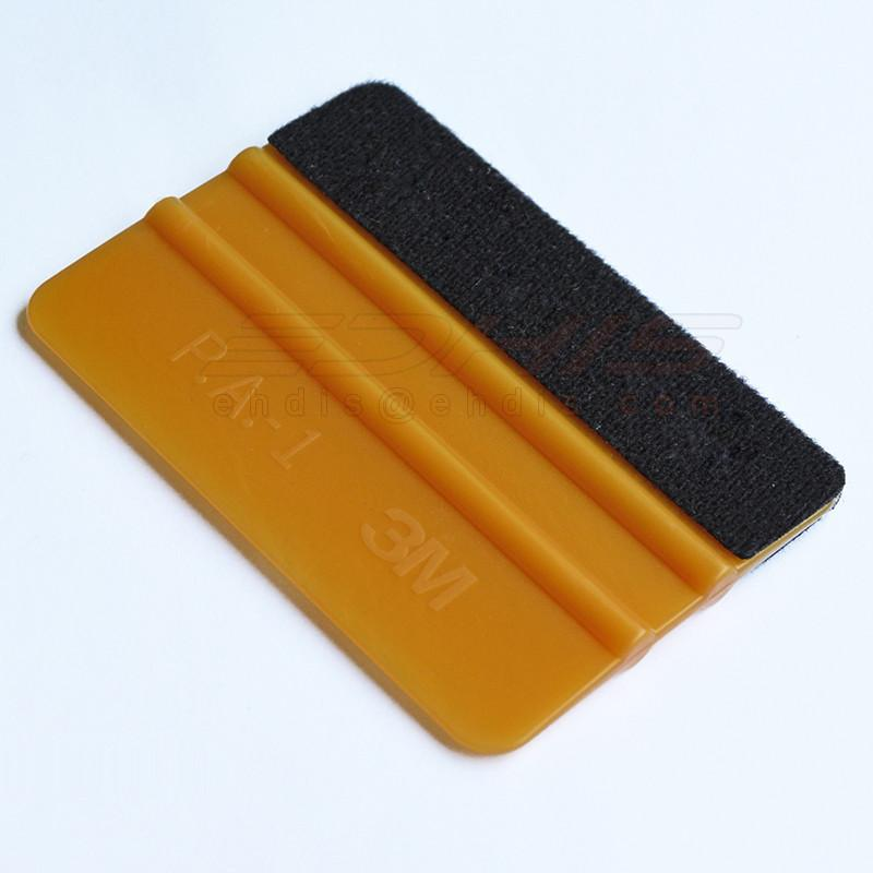 A02G auto vinyl tool 3m gold suqeegee with felt car film installing wrap tools