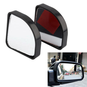A24 2pcs Car mirror Adjustable Side Rear View Auxiliary Blind Spot Mirror Auxiliary