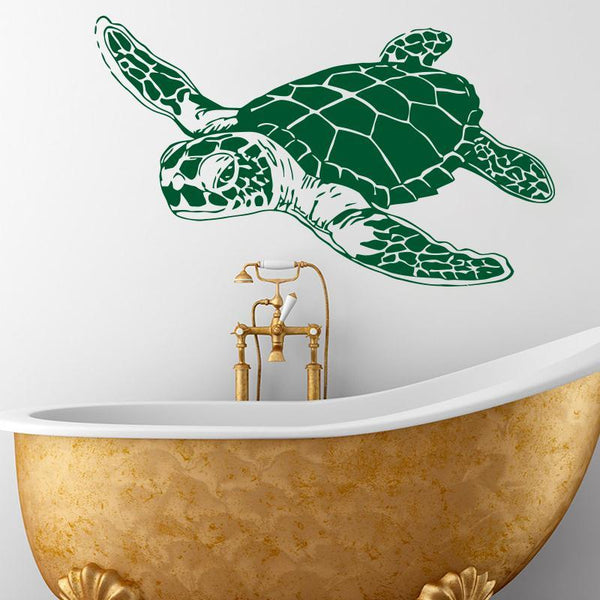 Art Design home decoration Vinyl sea turtle Wall Sticker removable house decor animal tortoise decals for kids or nursery