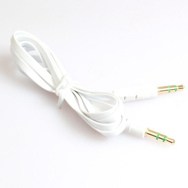 AUTO 2016 Top noodle Aux Stereo 3.5mm 1 m Car Male to M AUX AUXILIARY sound Stereo Audio Data Cable MP3 Au 30