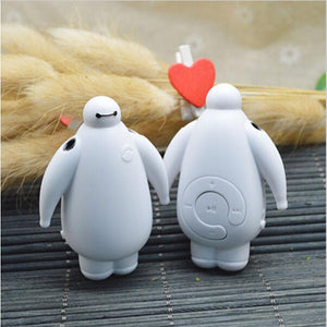 Big Hero 6 Baymax Mini MP3 Music Player With Micro TF SD Card Slot Without Accessories