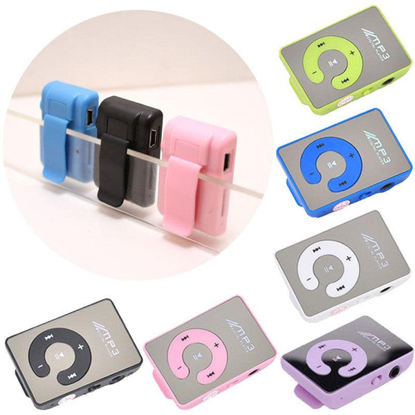 BigMirror Portable MP3 player Mini Clip MP3 Player waterproof sport mp3 music player walkman lettore mp3