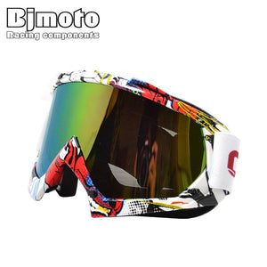 BJ-MG-001A man women motocross goggles glasses cycling eye ware MX off Road helmets goggles Sport gafas for motorcycle