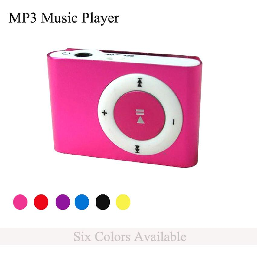 Brand Mini Clip MP3 Music Player with TF SD Card Slot + Earphone + Power Cable Lightweight and Portable Electronic