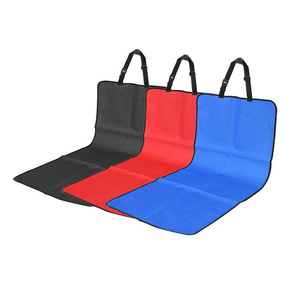 Brand Oxford Fabric Car Seat Cover Water-proof Pet Car Seat Cover Dog Cat Puppy Seat Mat Blanket Blue Red Black ME3L