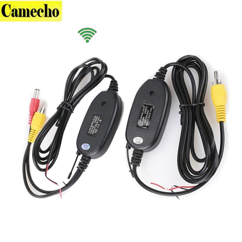 Camecho 2.4G Wireless Module adapter receiver&transmitter for Car Reverse Rear View backup Camera cam