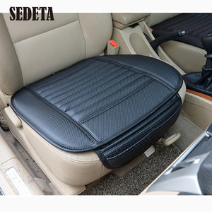 Car Bamboo Charcoal Seat Cushion Breathable Padded Auto Cover Pads Universal