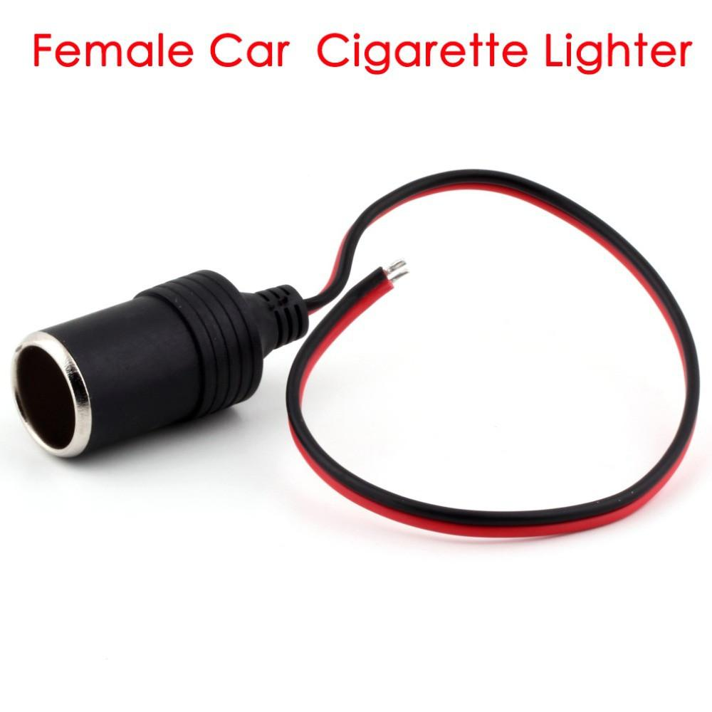 Car Cigarette Lighter Extension Plug Adapter Power 10W 5V 2A Female Cigarette Lighter Adapter Extension Socket 12V Car Outlet