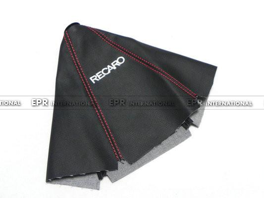 Car-styling For Recaro Gear Shift Knob Cover PU Gaiter Sleeve Glove Collars