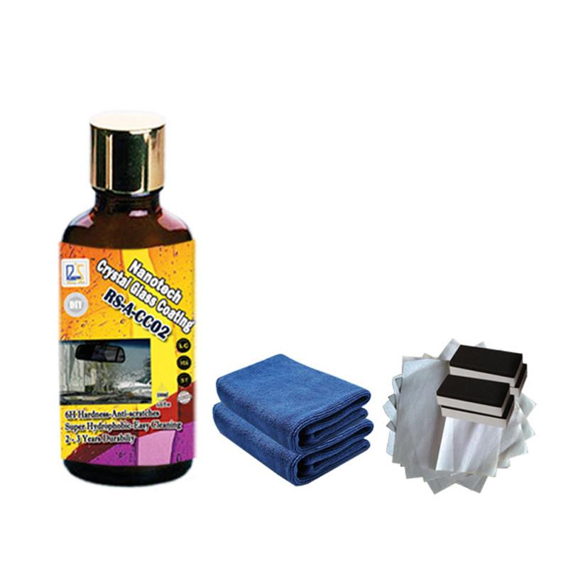 car-styling liquid glass coating nano hydrophobic car coating rain and water repel less use wipers car window self cleaning