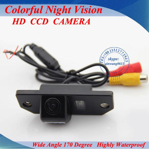 "CCD 1 3"" Car Rear view Camera Parking Back Up Reversing Camera For Ford-Focus Sedan C-MAX MONDEO 2008 2010 For Focus(2)"
