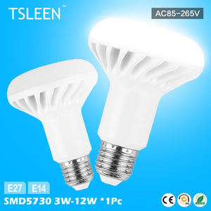 '++ R39 R50 R63 R80 LED Lamp Replacement Bulb Reflector Light E27 E14 Screw # TSLEEN