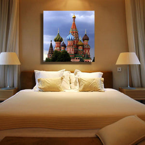 Church Diamond Embroidery DIY 5D Diamond Painting Craft Home Decor European And American Style