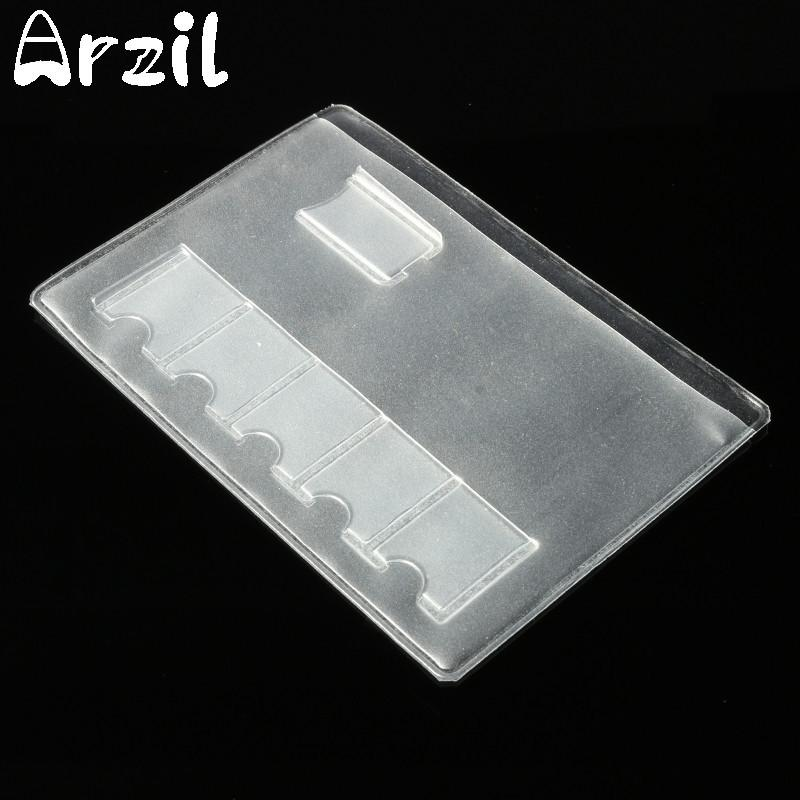 Clear Storage Bag For Memory Card 6 Sim Card Storage Box Case Transparency Storage Case Cover Holder Protector Easy Carry