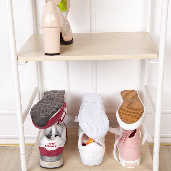 Creative Design Space Save Shoes Rack Shoe Storage Shelf